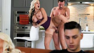Brazzers – MommyGotBoobs – Getting It On With My Girlfriend's Mom