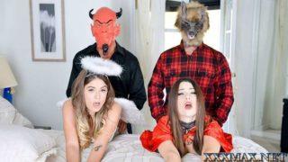 DaughterSwap – Halloween Hijinks Starring Lacey Channing Pamela Morrison